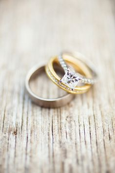 Kind of love the mixed metals;) Photography by oncestudio.com