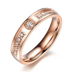 Mealguet Jewelry Cheap Stainless Steel Comfort Fit Engagement Diamond Wedding Ring Sets for Him and Her,Rose Gold Mealguet http://www.amazon.com/dp/B015CNF5UO/ref=cm_sw_r_pi_dp_dHMawb15KBECY