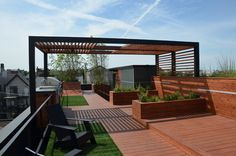 Pergola For Small Backyard Building A Pergola, Deck With Pergola, Wooden Pergola, Pergola Plans, Pergola Ideas, Pergola Roof, Patio Ideas, Modern Pergola Designs, Modern Deck