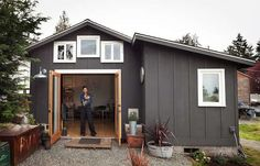 Expand living space into the garage...