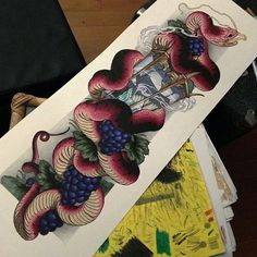 """899 aprecieri, 20 comentarii - Currar Whitham-Field (@filthytattooart) pe Instagram: """"Hey people! I only have ONE of these prints left.. If you wanted one its time to grab it from…"""""""