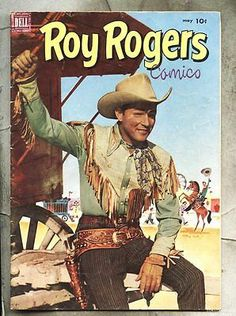 Roy Rogers Dell Golden Age Westerns Comics Not Signed Comic Book Covers, Comic Books, Vintage Western Wear, Dale Evans, Western Comics, Star Images, Native American Photos, Roy Rogers, Old Comics