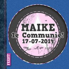 #Communiefeestje?communie jeans hip girl - Communiekaarten - Kaartje2go