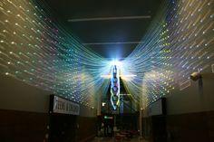 """stunning digital art installation """"Filament Mind"""""""