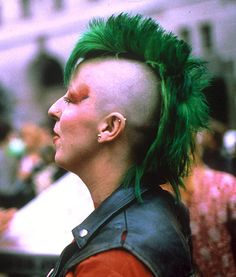 An original 70's punk. #manicpanic