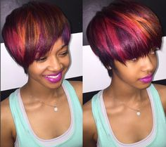 Edgy color blend via @msklarie - http://community.blackhairinformation.com/hairstyle-gallery/short-haircuts/edgy-color-blend-via-msklarie/