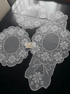 40 Different Lace Patterns That Are Indispensable For Dowels Crochet Placemat Patterns, Crochet Chart, Lace Patterns, Baby Knitting Patterns, Crochet Table Runner, Crochet Tablecloth, Crochet Doilies, Fillet Crochet, Cross Stitch Kitchen