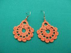PDF Tutorial Crochet Pattern...Dangle Earrings di accessoriesbynez