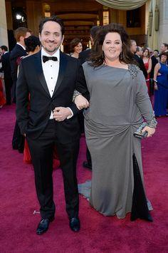 Melissa McCarthy and husband actor Ben Falcone.