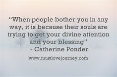 Inspiration from Catherine Ponder