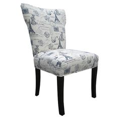 Found it at Wayfair - Bella French Dining Chair in Blue (Set of 2)