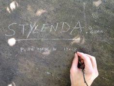 #branding #name #inscription #stylenda #startup