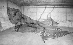 Tape Art – Les étonnantes installations en scotch de Darel Carey | Ufunk.net