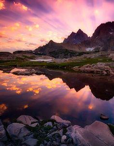 Teton Tarn Sunrise | by Chip Phillips