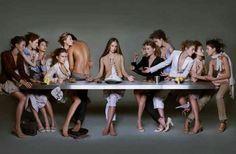 """Models """"last supper"""""""