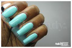 Nails Inc Spring Summer 2013 nail polish collection review and swatches - Royal Botanical Gardens