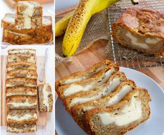 This moist Cream Cheese Banana Bread takes only minutes to prepare and it tastes every bit as good as it looks. It's been an Internet sensation and you will not be disappointed. Watch the video tutorial and check out the Crazy Banana Cake with Cream Cheese Frosting too. It's another cracking recipe that's incredibly delicious.