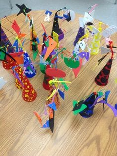 Mrs. Knight's Smartest Artists- 3rd grade calder sculptures