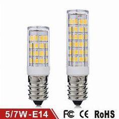 [ 26% OFF ] Mini E14 Led Lamp 5W 7W Ac220V Smd2835 Chandelier Lampada Led Light Corn Bulb Pendant Wall Fridge Refrigerator Lamps 6Pcs/lot