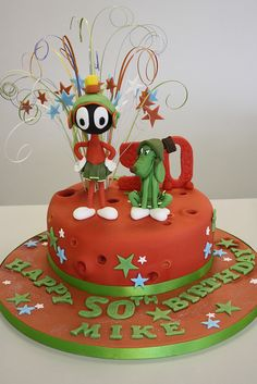 marvin the martian cakes -