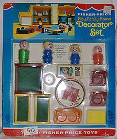 Fisher Price Play Family Decorator Set #728