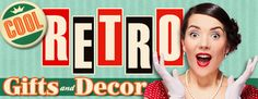 Shop the largest retro store of vintage signs & retro gifts. Hundreds of retro decor items from tin signs, wall clocks, kitchenware to retro furniture.""