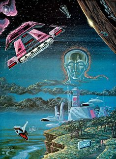 1979 illustration by Larry Ortiz Future Life magazine