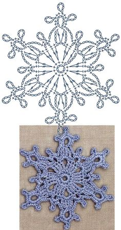 No 7 large snowflake lace crochet motifs 눈송이 모티브도안 네이버 블로그 Crochet Snowflake Pattern, Crochet Stars, Christmas Crochet Patterns, Crochet Motifs, Holiday Crochet, Crochet Snowflakes, Crochet Diagram, Doily Patterns, Afghan Crochet Patterns