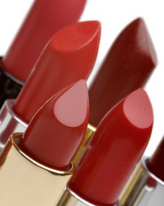 Makeup Mistakes That Can Make You Look Older - Stay Away From Dark, Matte Lip Colors: Deeply pigmented matte lip colors are hard to pull off as you age. The solution is to go softer. Use a lip liner or a stain in a dark color you like, then blend a balm over it or coat it with sheer gloss. Deep colors need something to balance the harshness. #lipstick