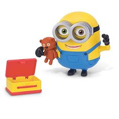 Minions Deluxe Action Figure - Bob with Teddy Bear 2aed8e28c2