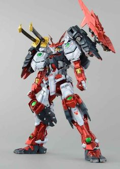 GUNDAM GUY: MG 1/100 Sengoku Astray Gundam - Painted Build