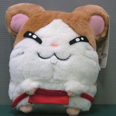 "Epoch Hamtaro And Hamster Friends Howdy Maido Kun 6"" Plush Doll Figure"