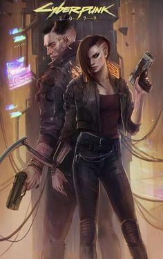 Cyberpunk 2077 (fan art) - Cyberpunk 2077 (fan art) on Behance - Cyberpunk 2077, Arte Cyberpunk, Moda Cyberpunk, Cyberpunk Girl, Cyberpunk Aesthetic, Cyberpunk Fashion, Cyberpunk Tattoo, Cyberpunk Games, Cyberpunk Clothes
