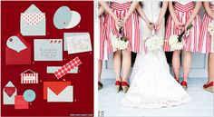 summer wedding inspiration, red white and blue wedding inspiration, 4th of july wedding inspiration