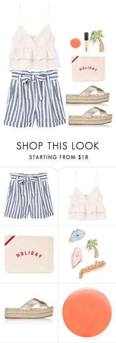 """""""Gold Sandals"""" by shoelover220 ❤ liked on Polyvore featuring MANGO, Holiday, Celebrate Shop, Prada, JINsoon and goldsandals"""