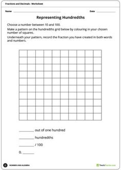 Teaching Resource: An experiment for students to observe the growth and change of a plant. 5th Grade Math, Primary Classroom, Life Cycles, Fractions, Teaching Resources, Worksheets, Names, Activities, Words