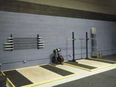 Good lifting platforms are not just cross fit lifting platforms.  These have lived in weight rooms for sports training, long before the creators of cross fit were a figment of there parents imagination.