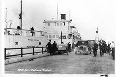 Mackinaw City State Dock, 1915's