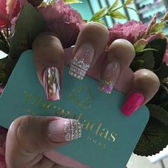 Aycrlic Nails, Pink Nails, Cute Nails, Nicole By Opi, Luxury Nails, Color Club, Sally Hansen, Black Nails, Short Nails