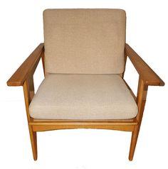 SALE! Vintage Danish Mid Century Lounge Chair