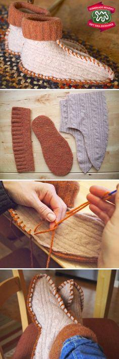 Zapatillas suéter