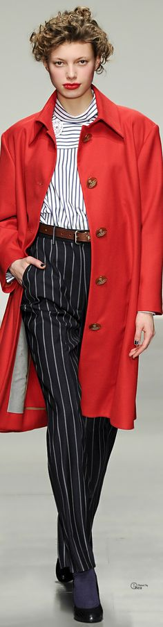 Vivienne Westwood Red Label  Fall 2014 | The House of Beccaria~