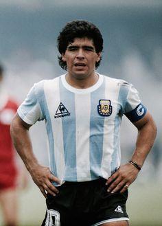 1986 Argentina Home (Le Coq) Maradona Football Images, Football Design, Football Pictures, Sports Pictures, Soccer World, World Football, Football Soccer, Soccer Socks, Fifa