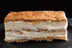 מילפיי (קרמשניט צרפתי) | תנובה Cake Icing, Fondant Cakes, Good Bakery, Cream Cake, Tiramisu, Cheesecake, Deserts, Brunch, Dessert Recipes