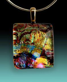 Dichroic Art Glass