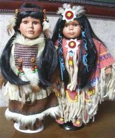 I collect Native American dolls. I have over twenty dolls.