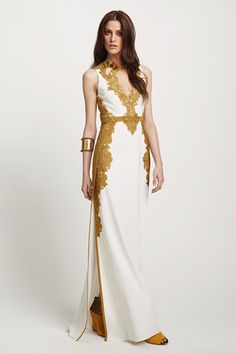 Arab Kaftan Look by Elie Tahari.
