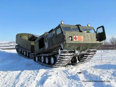 Снегоболотоходный Двухзвенный Гусеничный Тягач ДТ - 30П