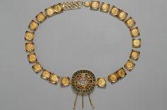 Coin belt, Roman, Getty Museum, ca 385 A.D.