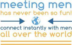 meeting men has never been this easy